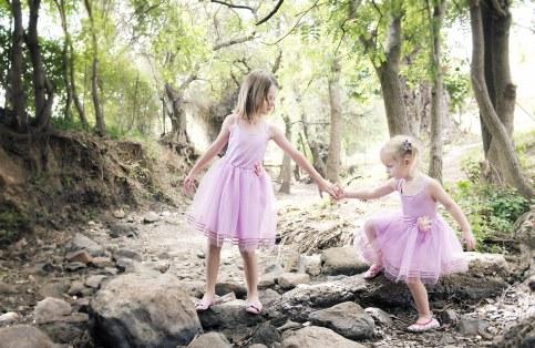Girls in Mitcham Reserve
