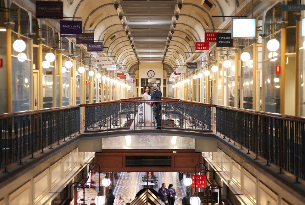 Adelaide Arcade Wedding by Svenstudios
