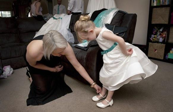 Bridal Party Preparation Photos