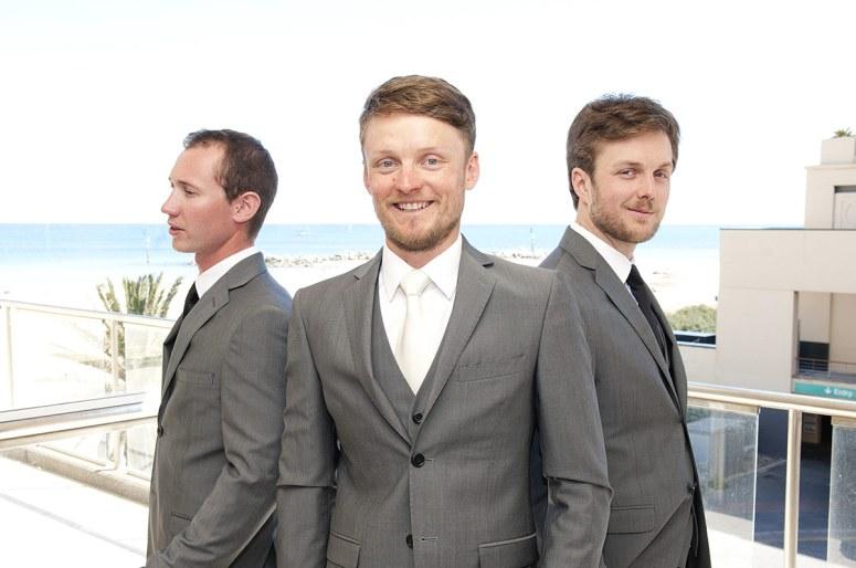 groomsmen preparation glenelg
