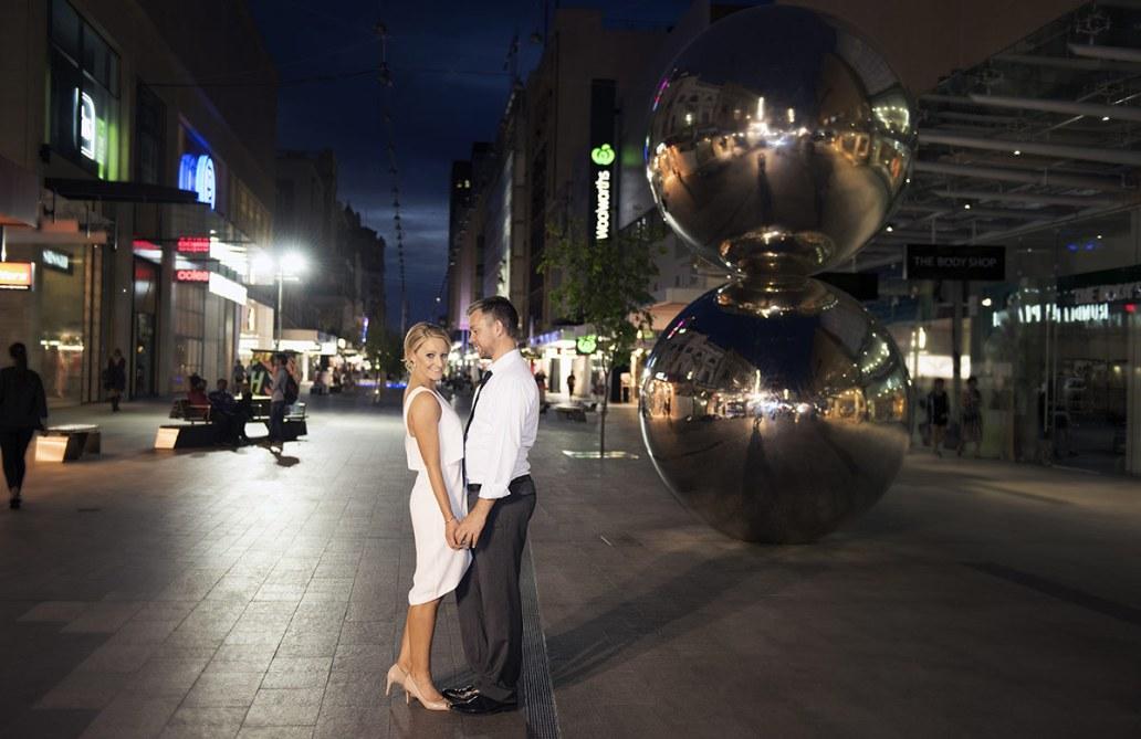 Malls Balls engagement