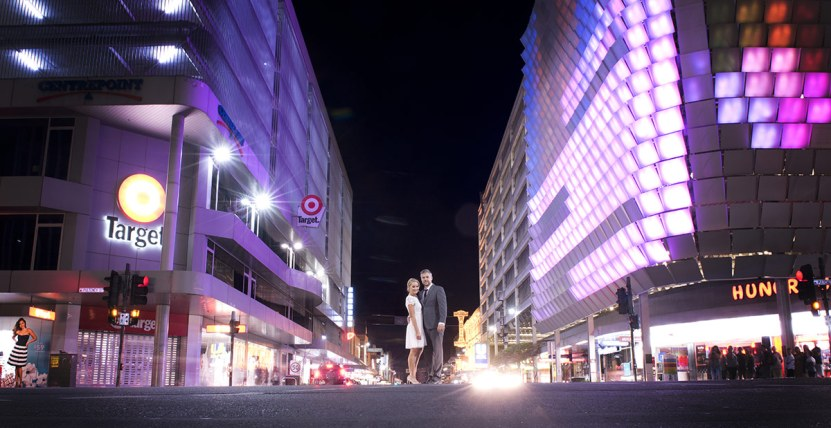 Adelaide City engagement photos