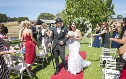 St Francis Winery Wedding Ceremony