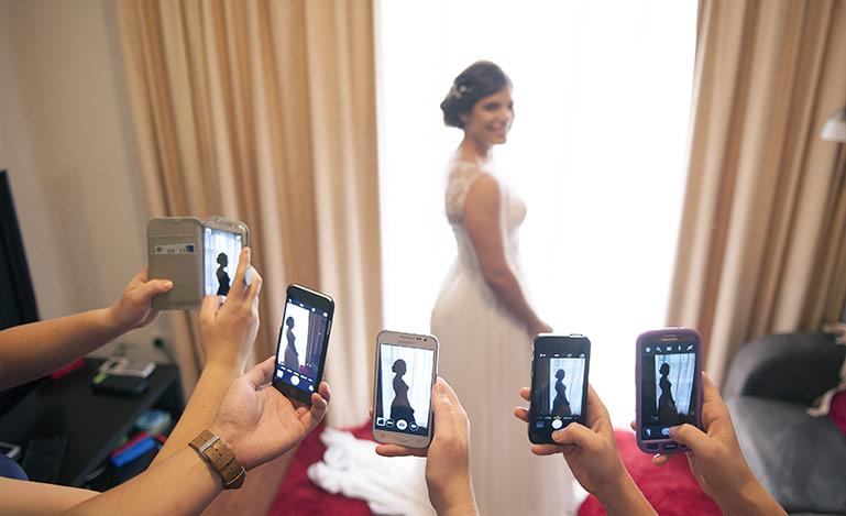 Bridal paparazzi