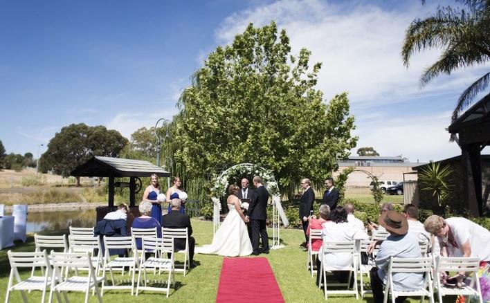 St Francis winery wedding