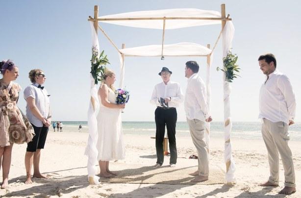 Somerton beach wedding