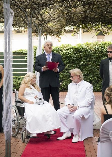 Barossa Weintal wedding