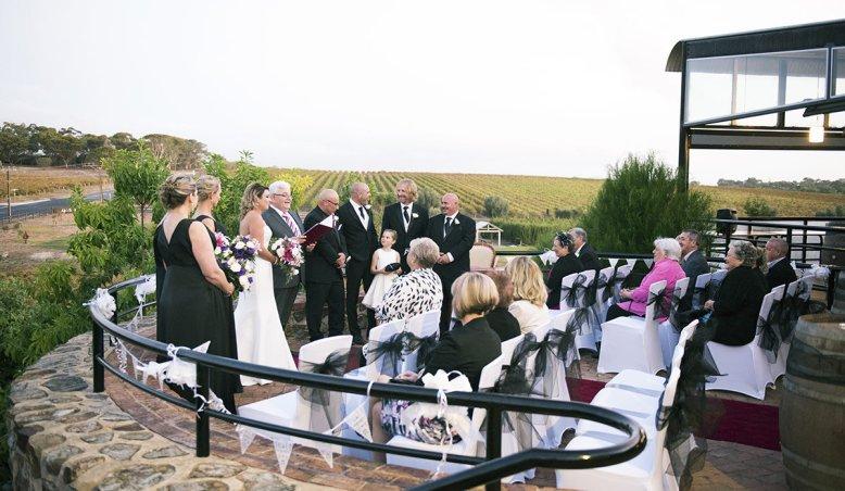 Mclaren vale wedding