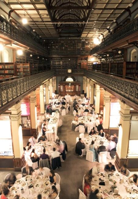 Mortlock library reception