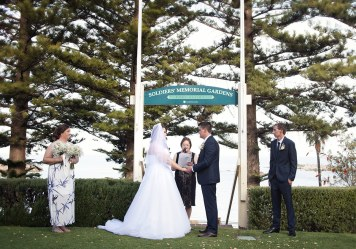 Port Elliot Memorial Gardens wedding