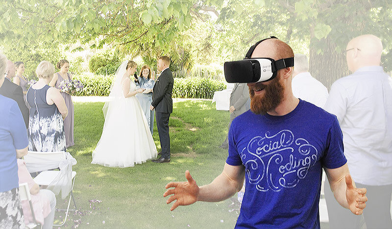 guest360 VR wedding videography