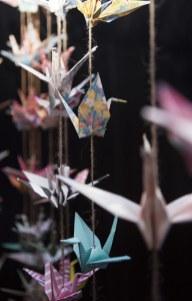 Paper Crane decorations