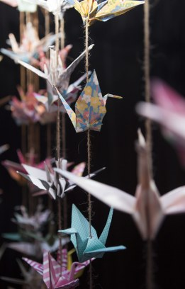 Paper Crane decorations