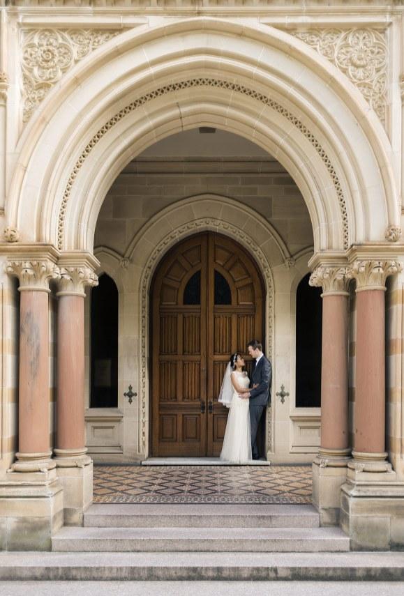 Door way of Adelaide University