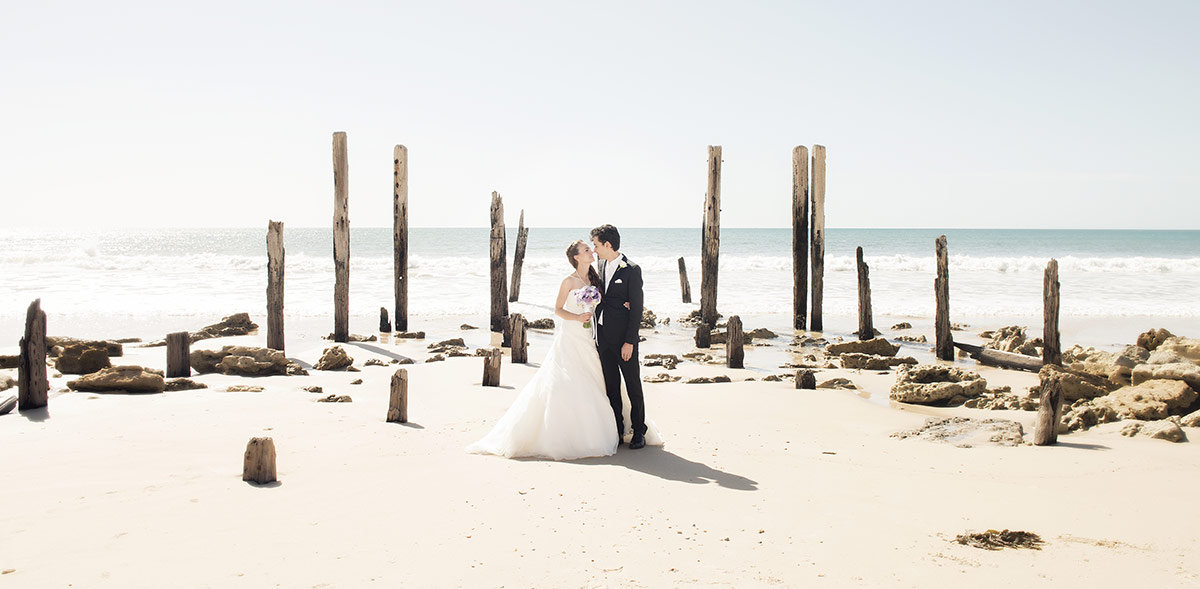 Pt Willunga Jetty wedding