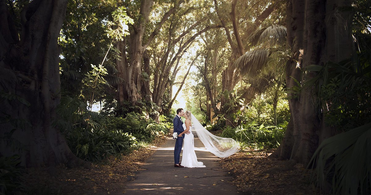 Adelaide Botanic Garden Wedding - Jackie & David