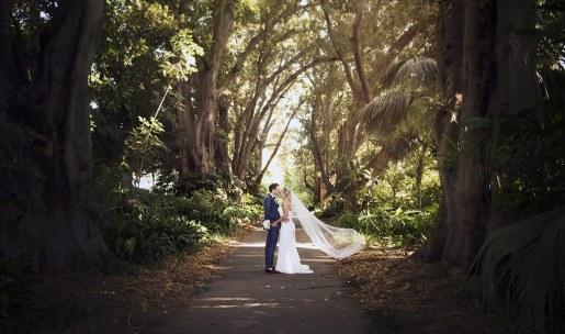 Adelaide Botanic Garden wedding
