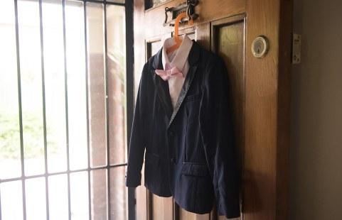 Page boy's suit