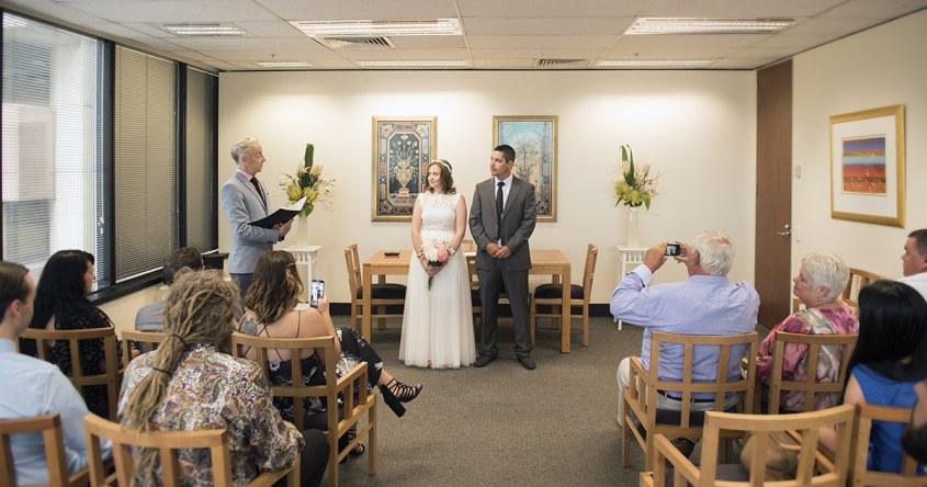 Registry wedding