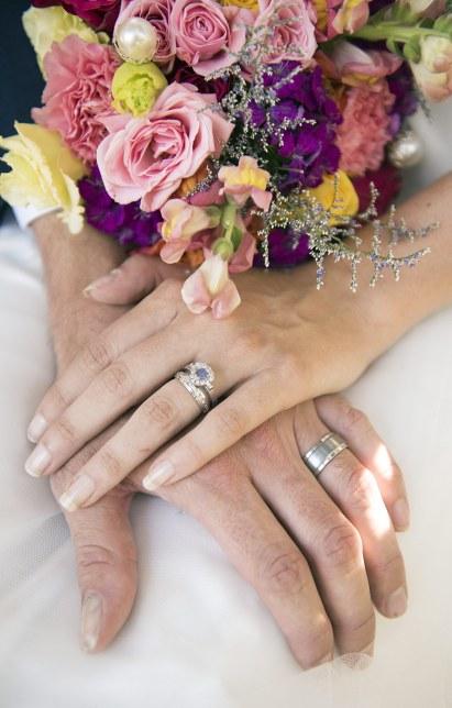 Wedding rings - Adelaide Wedding Photography
