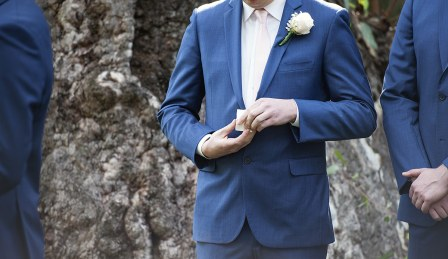 Best man and the rings