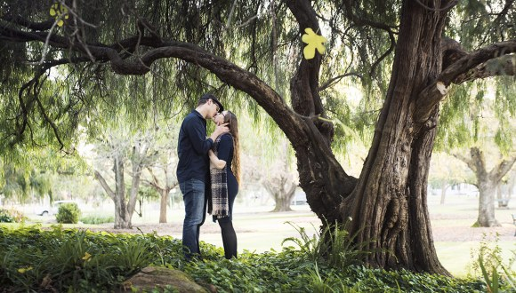 Veal Gardens Engagement