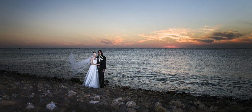 Hallett Cove Beach Wedding