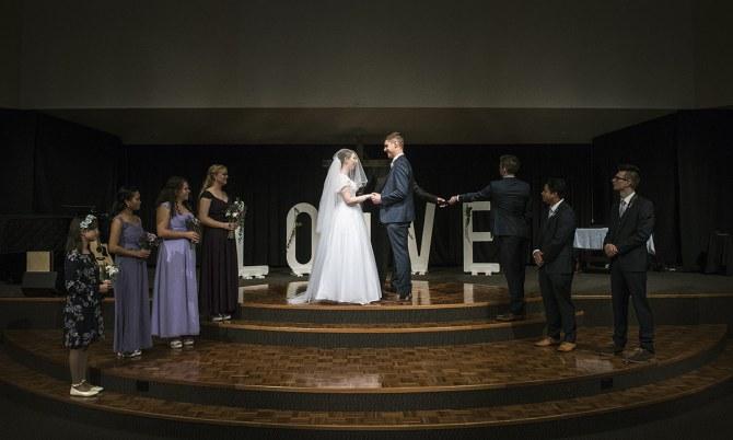 Edwardstown Baptist Church Wedding