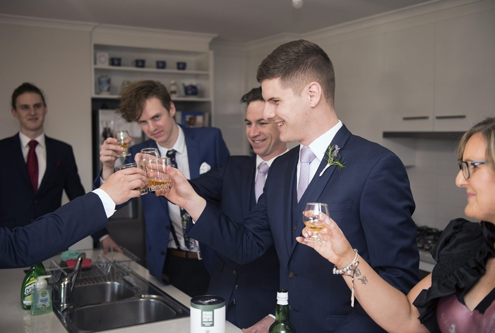 A toast!