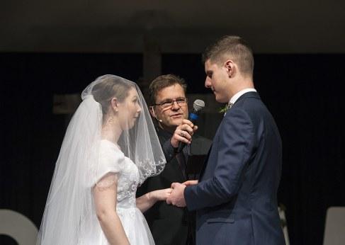 Saying vows