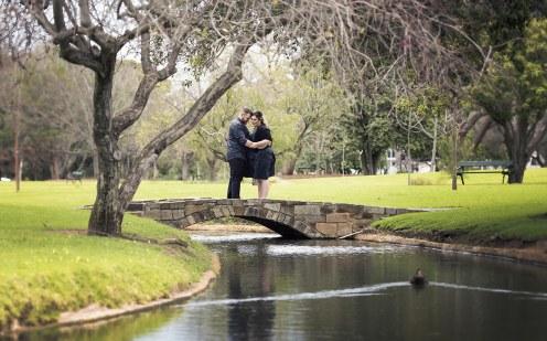 South Terrace Engagement shoot