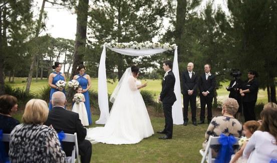 Glenelg Golf Club Wedding Ceremony