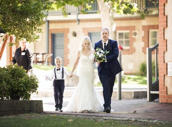 Bridal entrance