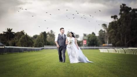 Gawler Barossa Jockey Club wedding on racecourse