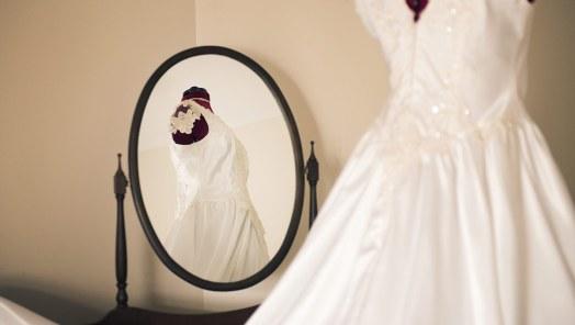 Mirrored dress