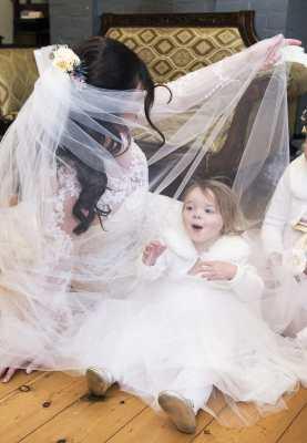 Having fun in the veil