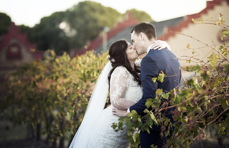 Kiss in the vines
