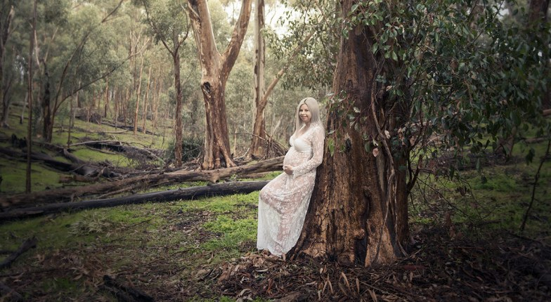 Mumma in the forest