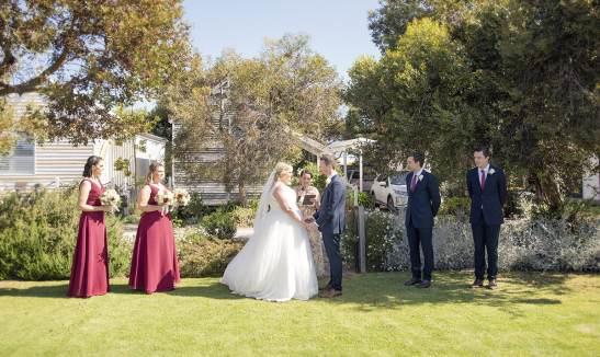 Beach Huts wedding