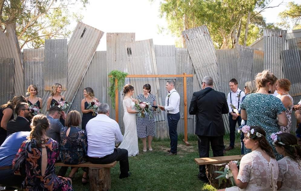 Kuitpo Hall Wedding Ceremony