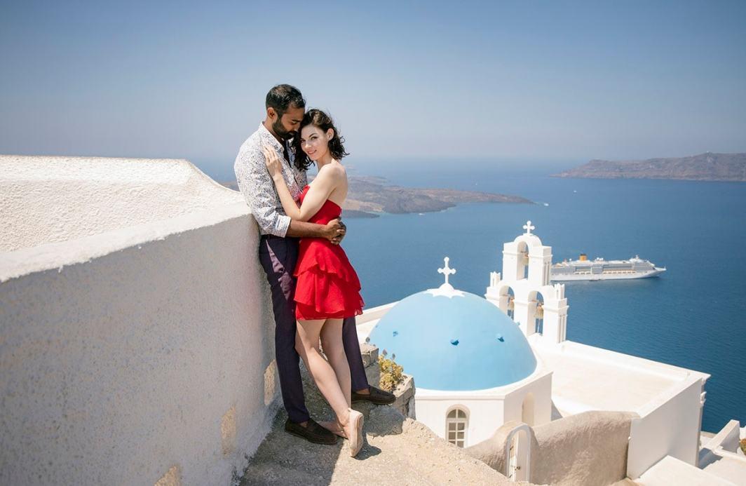 Santorini Couple Shoot