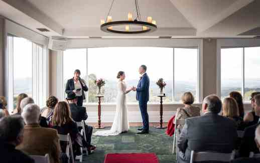 Mt Lofty House Wedding Ceremony