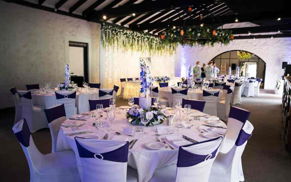st francis winery wedding reception