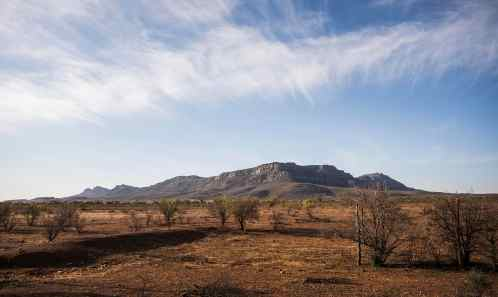 Wilpena Pound from Arkapena Station