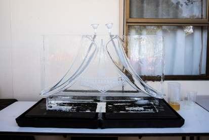 Mead ice sculpture