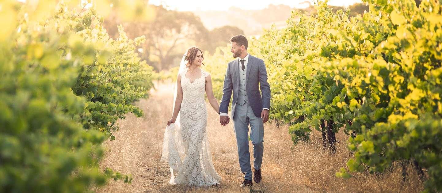Ekhidna wines wedding
