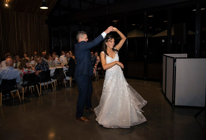 First dance twirl