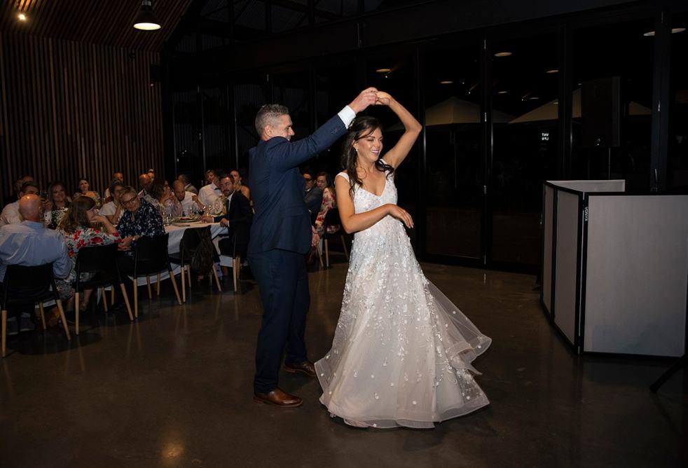 First dance twirl