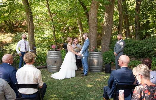 Inglewood Inn wedding ceremony