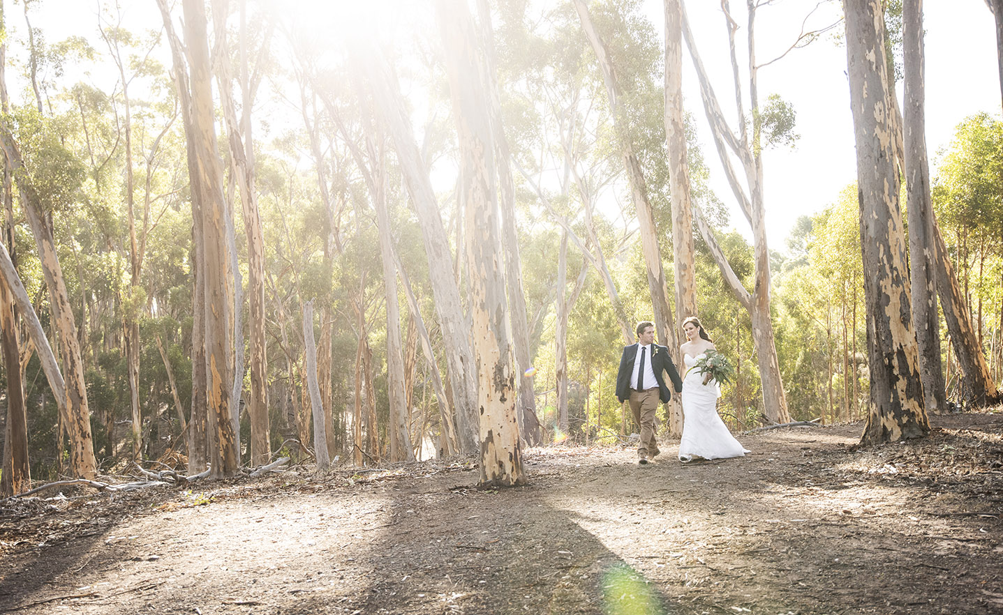 Belair National Park wedding photo